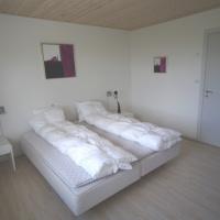Øverste lejlighed - Sovværelse med dobbelsæng