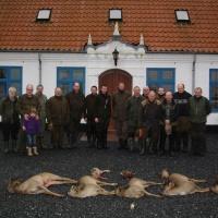 Jagtparade med gæster